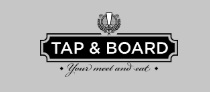 Tap & Board logo here